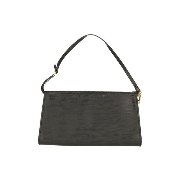Louis Vuitton Black Epi Leather Pochette Accessoires