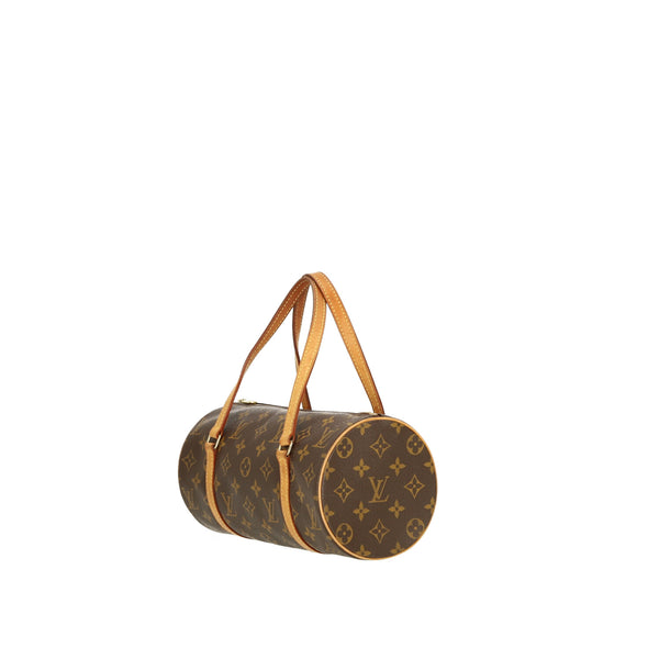 Louis Vuitton Papillon 26 Brown Monogram Handbag