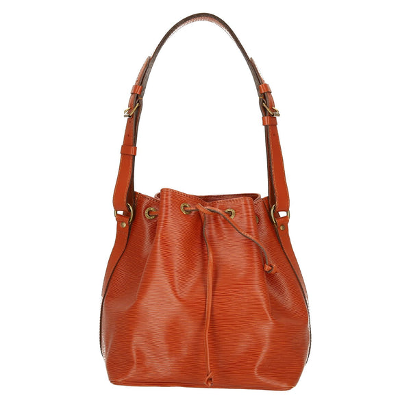 Louis Vuitton Brown Epi Leather Petit Noe Shoulder Bag
