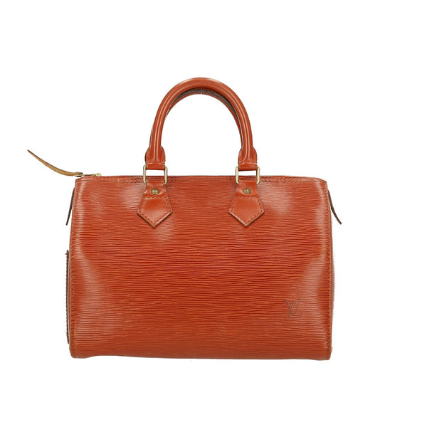 Louis Vuitton Brown Epi Leather Speedy 25 Handbag
