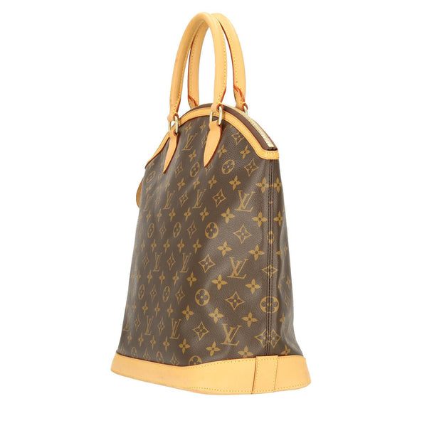 Louis Vuitton Monogram Lockit Vertical HandBag
