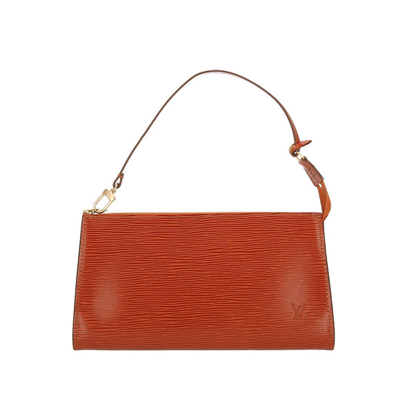 Louis Vuitton Brown Epi Leather Pochette Accessoires