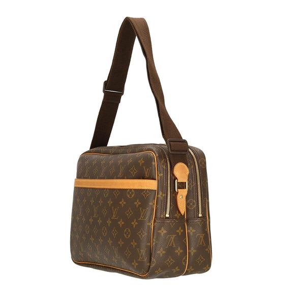 Louis Vuitton Monogram Reporter GM Shoulder Bag