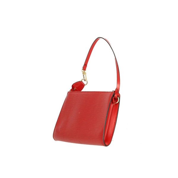 Louis Vuitton Red Epi Leather Pochette Accessoires