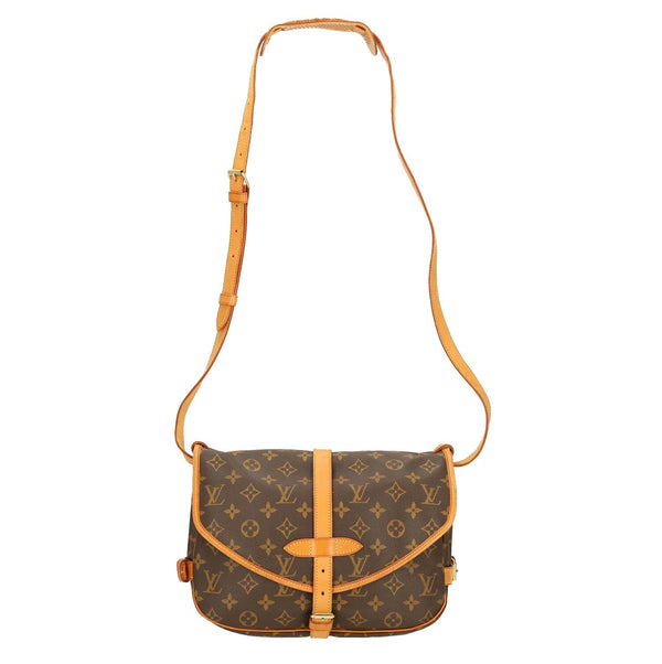 Louis Vuitton Monogram Saumur 30 Shoulder Bag