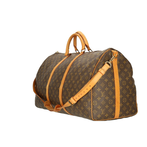 Louis Vuitton Monogram Keepall Bandouliere 60 Travel Bag