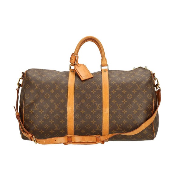 50c1f48de6ab Louis Vuitton Monogram Keepall Bandouliere 50 Travel Bag – INSELLER