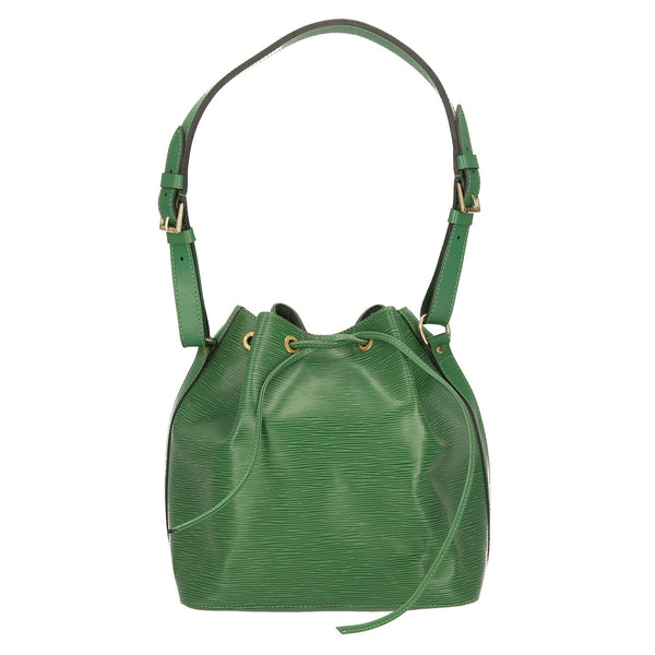 Louis Vuitton Green Epi Leather Petit Noe Shoulder Bag