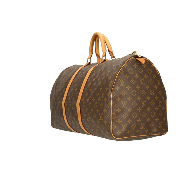 Louis Vuitton Monogram Keepall 55 Travel Bag