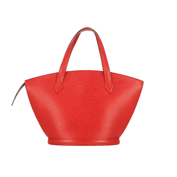 Louis Vuitton Red Epi Leather Saint Jacques PM Shoulder Bag
