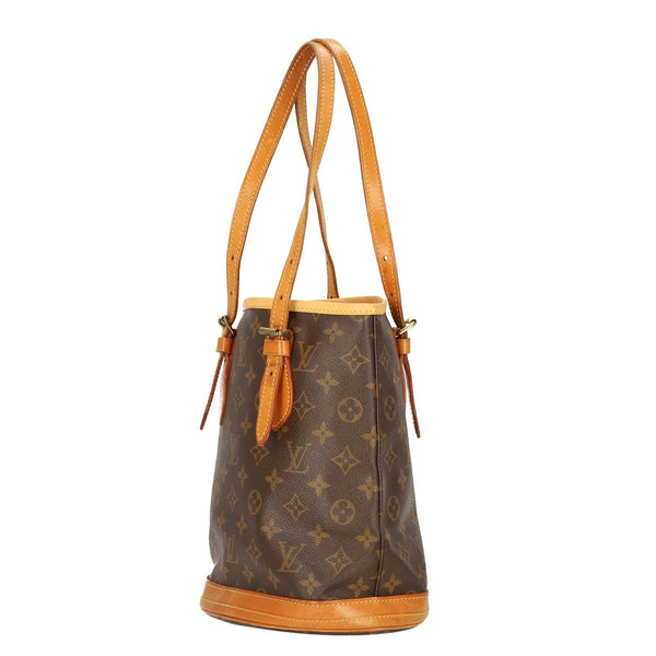 Louis Vuitton Monogram Bucket PM Shoulder Bag