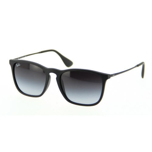 e0dd5cada9 RAY-BAN CHRIS RB4187 622 8G 54-18 BLACK FRAME   GREY GRADIENT LENS ...