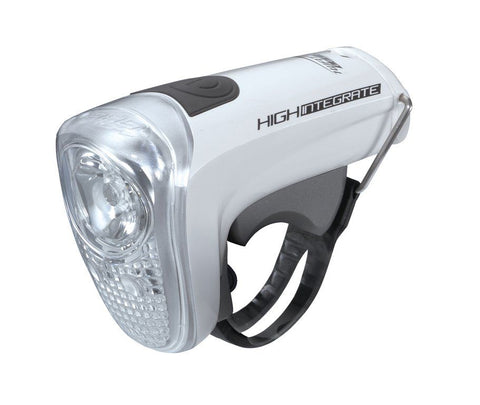 BLS-43 Faro HighIntegrate bianco 1W + 2 LED 4xAAA BBB - Charlie Bike Store