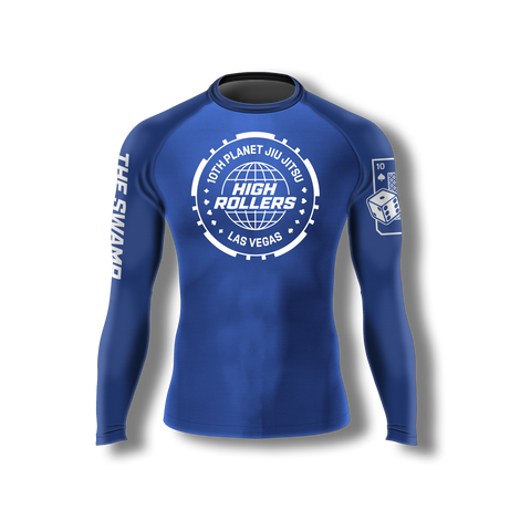 High Rollers 10th Planet Las Vegas Rashguard (Ships Mid Oct)