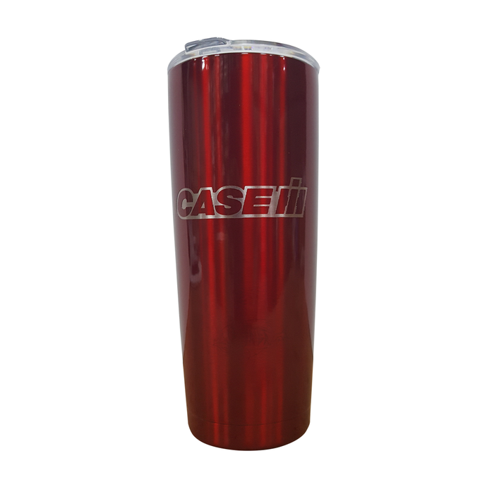 POWDER COATED CASE IH 20 oz TUMBLER by TAIGA