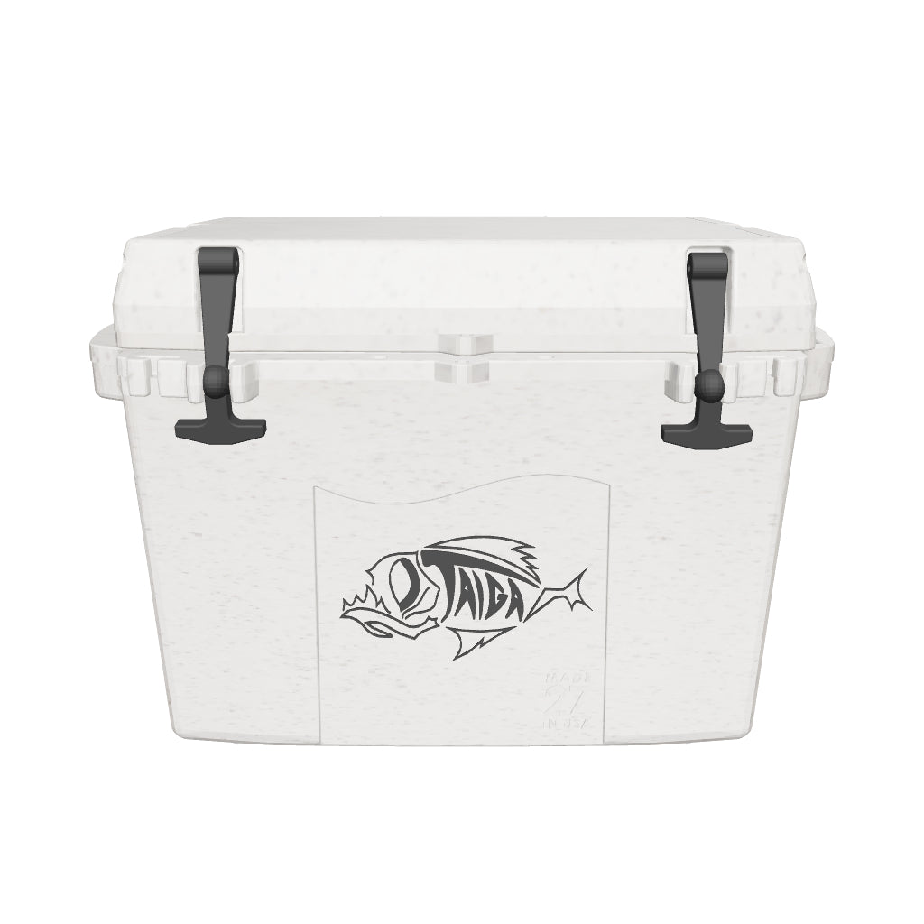 27 QUART TERRA COOLER - GRANITE WHITE