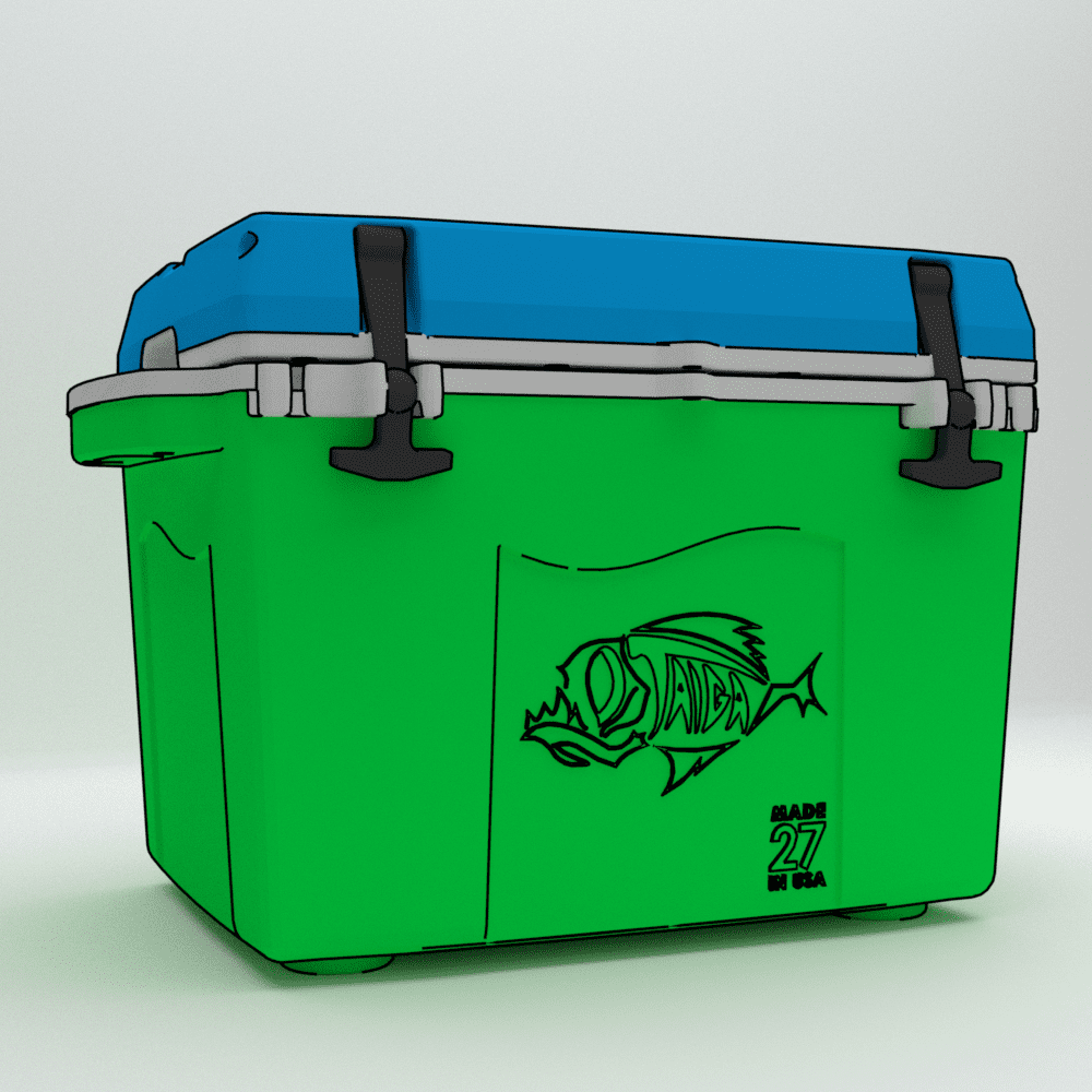 27 Qt Full custom cooler - 50 cooler minimum