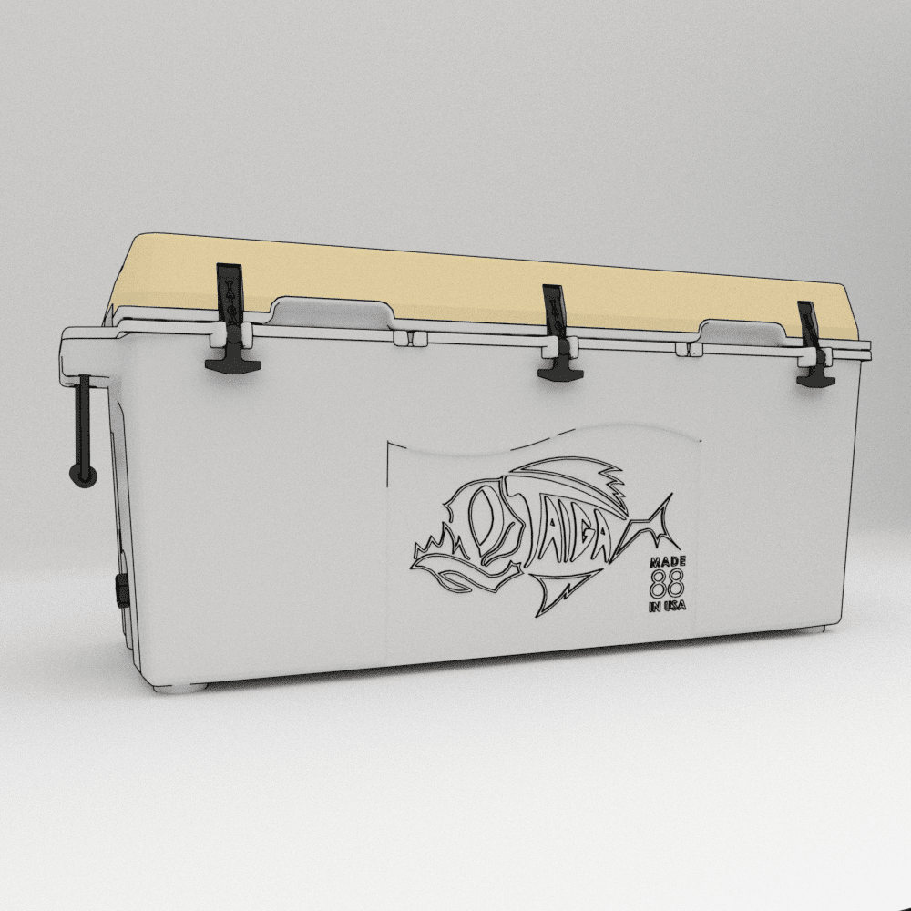 Taiga 88 Quart Custom Cooler