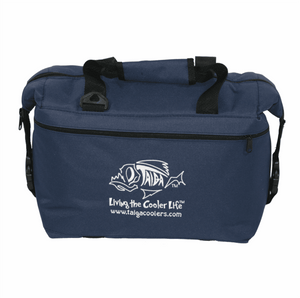 NAVY SOFT SIDED COOLER
