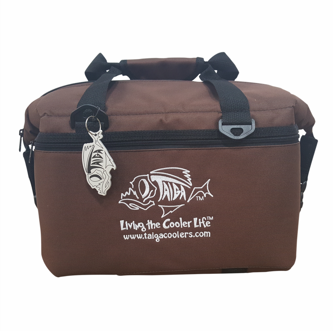BROWN SOFT SIDED COOLER