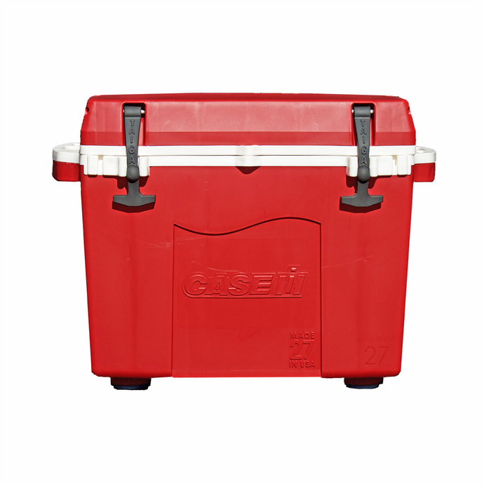 27 QUART CASE IH CUSTOM COOLER