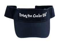Load image into Gallery viewer, LIVING THE COOLER LIFE VISOR