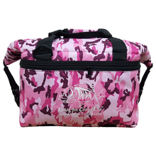 Load image into Gallery viewer, PINK CAMO SOFT SIDED COOLER
