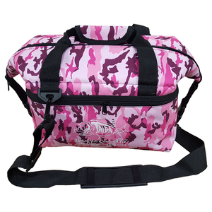 PINK CAMO SOFT SIDED COOLER