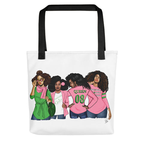 Sorority Sisters AKA Tote bag