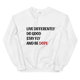 She's Dope Motto Sweatshirt
