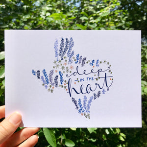 Deep in the Heart - Texas Bluebonnets