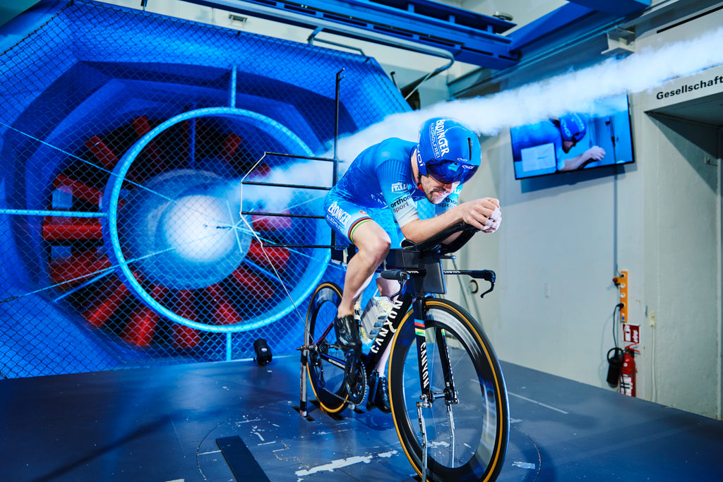 Patrick Lange new aero technology launch with Swiss Side