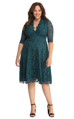 KIYONNA - Mademoiselle Lace Dress - Designer Dress hire