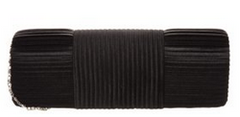 L.Credi - Black Clutch - Designer Dress Hire