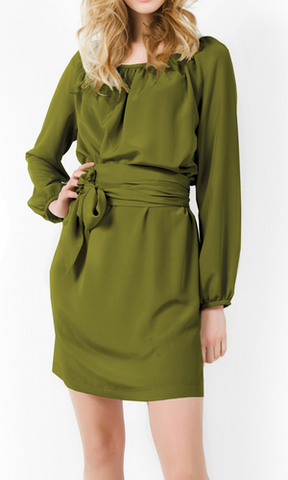 LaDress - Julie Olive Tunic - Designer Dress hire