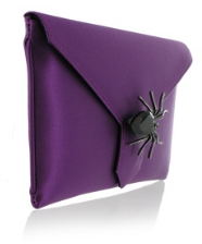 WILBUR AND GUSSIE - Charlie Clutch - Spider - Designer Dress hire