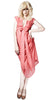 NICOLA DE MAIN - Flamingo Dress - Designer Dress hire