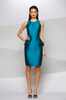 THE WARDROBE - Newland Dress Blue - Designer Dress hire