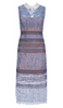 QUIZ - Navy Sequin Fishtail Dress - Designer Dress hire