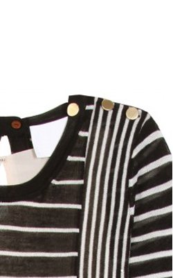 3.1 PHILLIP LIM - Striped Knit Dress - Designer Dress hire