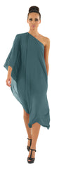 GORGEOUS COUTURE - The Loren Dress Teal - Designer Dress Hire