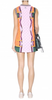 MARY KATRANTZOU - Graphic Technicolour Dress - Designer Dress hire
