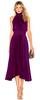 GORGEOUS COUTURE - The Daphne Maxi Oxblood - Designer Dress hire
