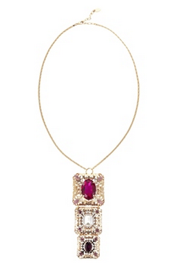 ANTON HEUNIS - Triple Filigree Pendant - Designer Dress hire