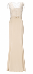 ARIELLA - Charlotte Satin Gown - Designer Dress Hire