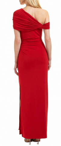 ARIELLA - Endra Red Gown - Designer Dress hire
