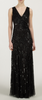 ARIELLA - Juliet Sequin Gown Black - Designer Dress hire