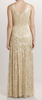 ARIELLA - Juliet Sequin Gown Gold - Designer Dress hire