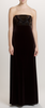 ARIELLA - Lila Velvet Gown - Designer Dress hire
