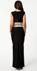 AX PARIS - Contrast Lace Maxi Dress - Designer Dress hire